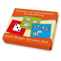 Bildkarten zur mathematischen Grunderfahrung: Kleine Mengen auf einen Blick, 4-7 Jahre