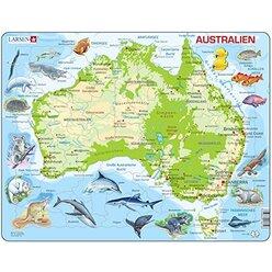 Larsen Lernpuzzle Australien