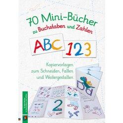 70 Mini-Bücher zu Buchstaben und Zahlen
