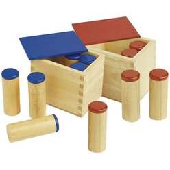 Montessori Geräuschdosen