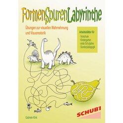Formen - Spuren - Labyrinthe, 4-7 Jahre