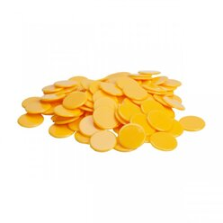Chips gelb 100 Stück