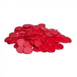 Chips rot 100 Stück