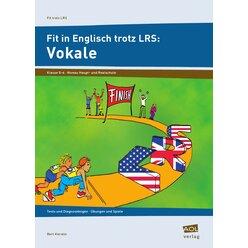 Fit in Englisch trotz LRS: Vokale, Heft, 5.-6. Klasse