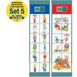 Flocards Kindergarten Set 5, Kartensatz, ab 3 Jahre