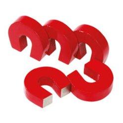 Hufeisenmagnete Satz mit 5 Hufeisen-Magneten