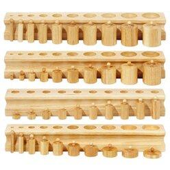 Block mit Zylindern im Set