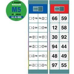 Flocards Mathematik M5, Kartensatz, 2. Klasse