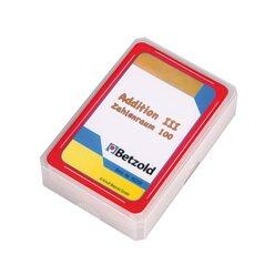 Addition-Spielkarten III  Zahlenraum 100