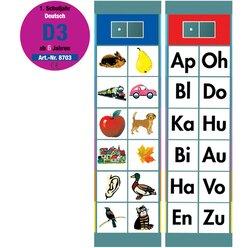 Flocards Set D3 Rechtschreibübungen Grundwortschatz,  ab 6 Jahre