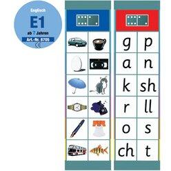 Flocards Set Englisch E1 spielerischer Einstieg,  ab 6 Jahre