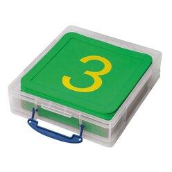 Zahlenmatten in stabiler Box 21 Stück
