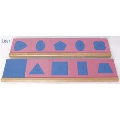 Montessori Zwei Ständer für Metallene Einsatzfiguren