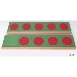 Montessori Ständer für die Bruchrechenkreise