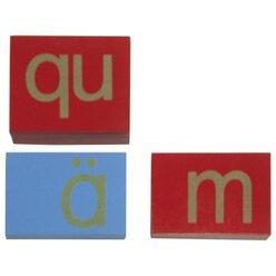 Montessori Sandpapier Kleinbuchstaben 109680 ohne Kasten
