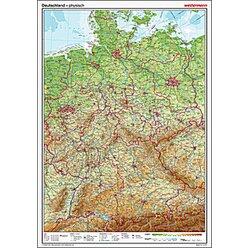 Westermann Posterkarte Deutschland physisch 100x70cm
