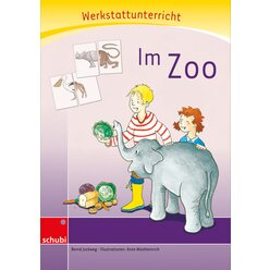 Anton und Zora: Im Zoo - Werkstatt zu Anton, 6-9 Jahre