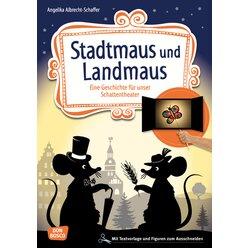 Das Schattentheater - Stadtmaus und Landmaus, ab 4 Jahre