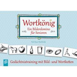 Wortkönig. Ein Bilderdomino für Senioren