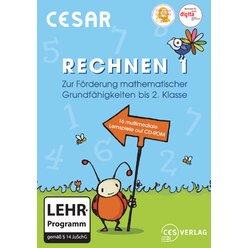 CESAR Rechnen 1, Einzelplatzlizenz, CD-ROM