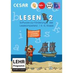 CESAR Lesen 2 für die 4.-6. Kl. - Einzelplatzlizenz -