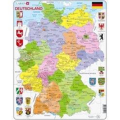 Larsen Lernpuzzle Deutschland II (politisch)