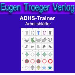 ADHS Trainer Arbeitsblätter (Praxislizenz 5 Plätze)