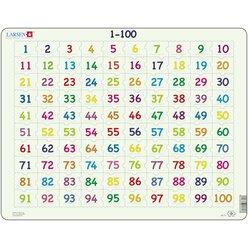 Larsen Lernpuzzle Mathe Zahlen von 1 bis 100, ab 7 Jahre