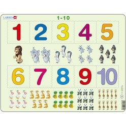 Larsen Lernpuzzle Mathe 1 - 10