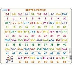 Larsen Lernpuzzle Mathe Subtra (Subtraktion)