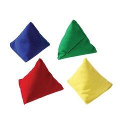 Pyramiden-Beanbag, blau