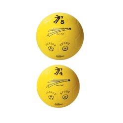 Soft-Fußball, Kickapoo, Größe 5, gelb, 21 cm