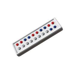 ABACO 20 tricolor rot-blau, Zähl- und Rechenrahmen, 6-9 Jahre