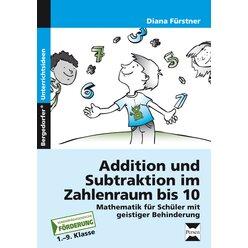 Addition und Subtraktion im Zahlenraum bis 10, Buch, 1.-9. Klasse
