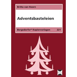 Adventsbasteleien, Kopiervorlagen, 1.-4. Klasse
