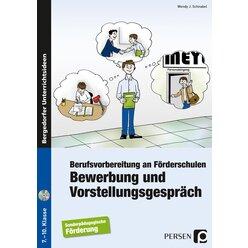 Bewerbung und Vorstellungsgespräch, Buch inkl. CD, 7.-10. Klasse