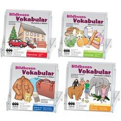 Bildboxen Vokabular 4er Set