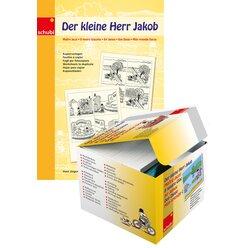 Der kleine Herr Jakob KOMBIPAKET Bilderbox mit 10 Kopiervorlagen, 4-12 Jahre