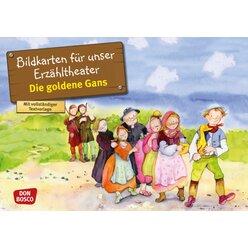 Kamishibai Bildkartenset - Die goldene Gans, 3-8 Jahre