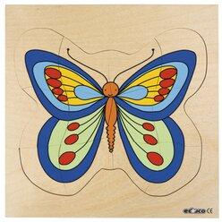Lagenpuzzle Schmetterling, ab 4 Jahre