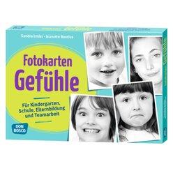 Fotokarten A4, Gefühle, 4 bis 10 Jahre