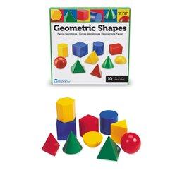 Set Geometrische Körper, 10-teilig, 8-12 Jahre