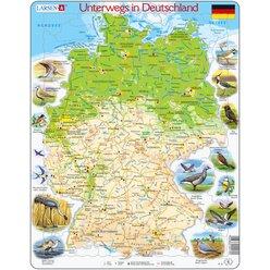 Larsen Lernpuzzle Unterwegs in Deutschland (physisch