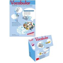 Vocabular Wortschatz-Bilder KOMBIPAKET Schule, Medien, 3-99 Jahre