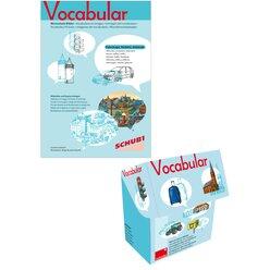 Vocabular Wortschatz-Bilder KOMBIPAKET Fahrzeuge, Verkehr, Gebäude, 3-99 Jahre