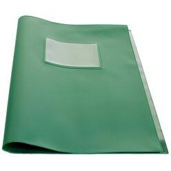 Computandi Klassenbuchhülle grün mit Einsteckfenster A4+, universell, 2 Einstecktaschen innen, 133001.002