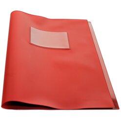 COMPUTANDI Klassenbuchhülle rot mit Einsteckfenster A4+, universell, 2 Einstecktaschen innen, 133001.004