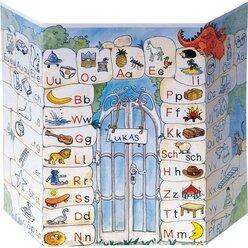 Buchstabentabelle im Zehnerset, 6-9 Jahre
