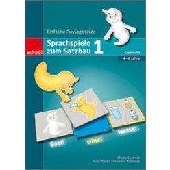 Sprachspiele zum Satzbau 1, Spielemappe, 4-8 Jahre