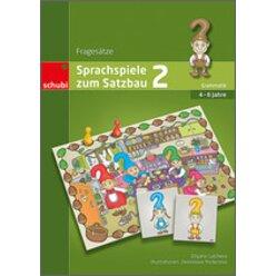 Sprachspiele zum Satzbau 2 - Fragesätze, Spielemappe, 4-8 Jahre